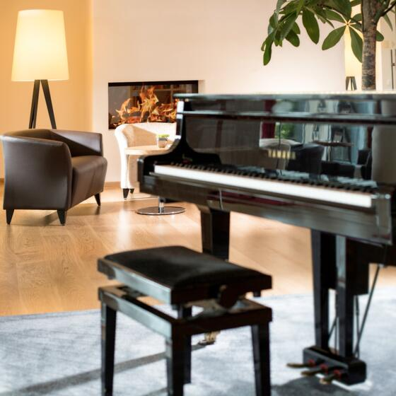 Thermenhotels Österreich: Piano in Hotelbar